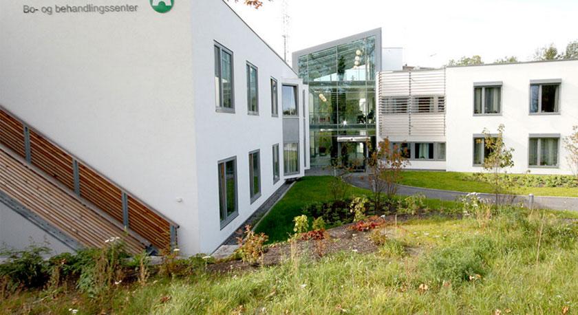 Bo og behandlingsenteret ved Sunnaas sykehus HF. Foto: Hent
